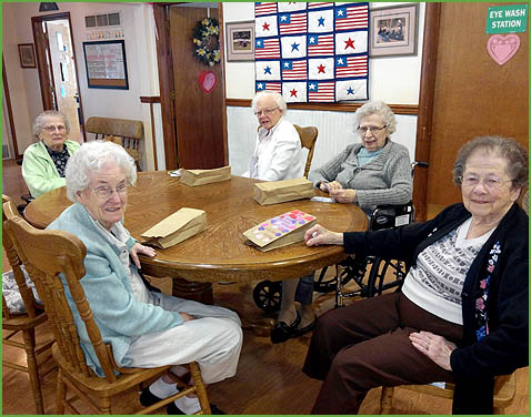 Cornerstone Living - Happy residents